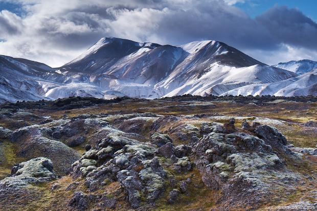 Landmannalaugar sous la neige, Septembre 2012