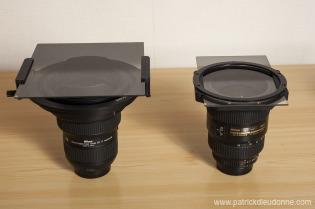 14-24 Nikon et filtre - 17-35 Nikon et filtre (100 mm)