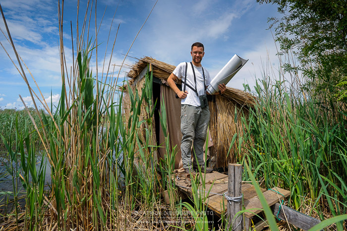 Luca Boscain, notre guide naturaliste à Ultima Frontiera