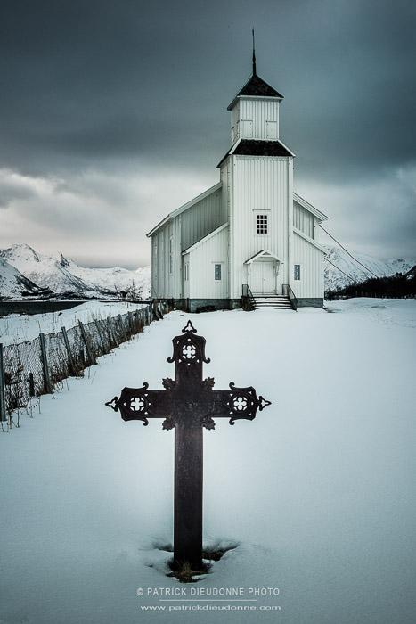 Lofoten, église