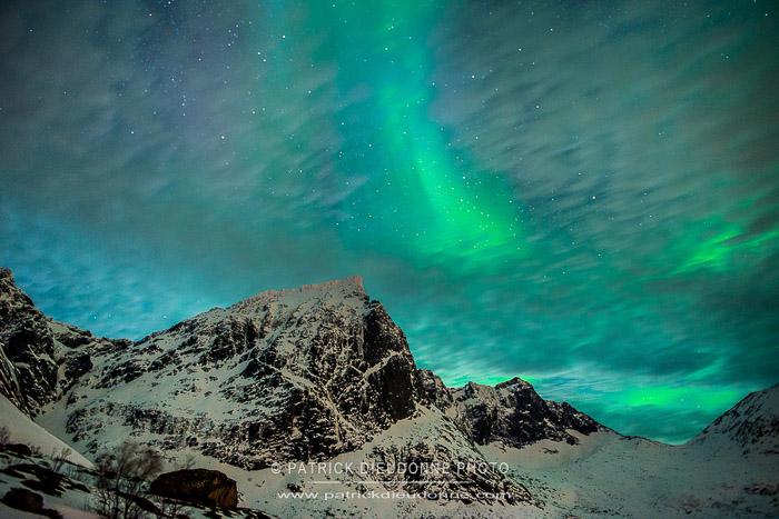 Lofoten, aurore boréale