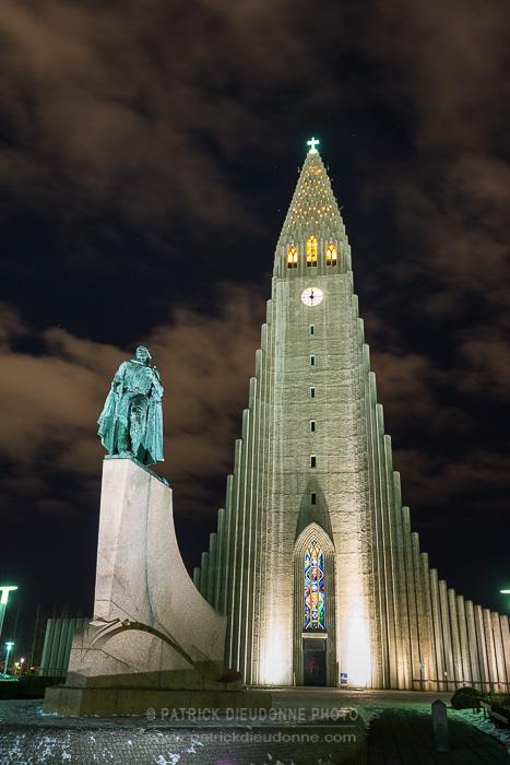 Eglise de Reykjavik, Islande