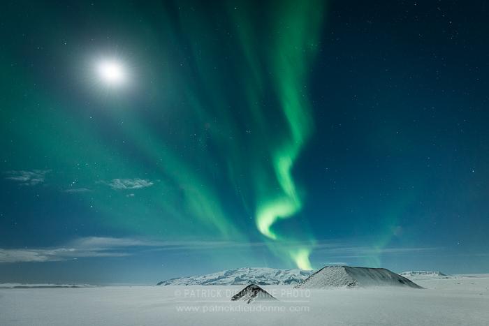 Islande aurore boréale