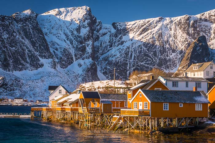Architecture traditionnelle, Lofoten