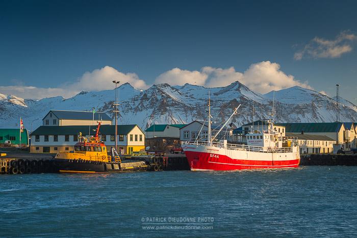 Port de Höfn, Islande