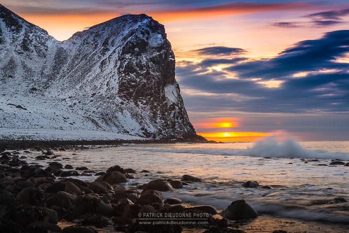 Soleil couchant, Lofoten