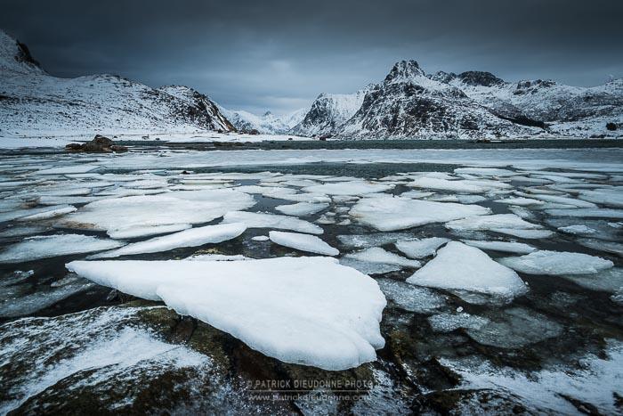 Fjord glacé, Lofoten