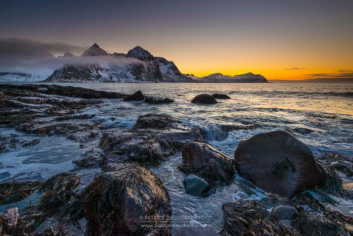 Côte rocheuse, Lofoten