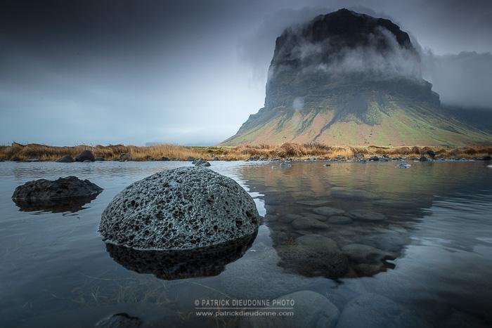 Lomagnupur, côte sud, Islande