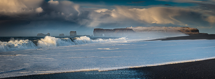 Plage de Reynisfjara, côte sud, Islande