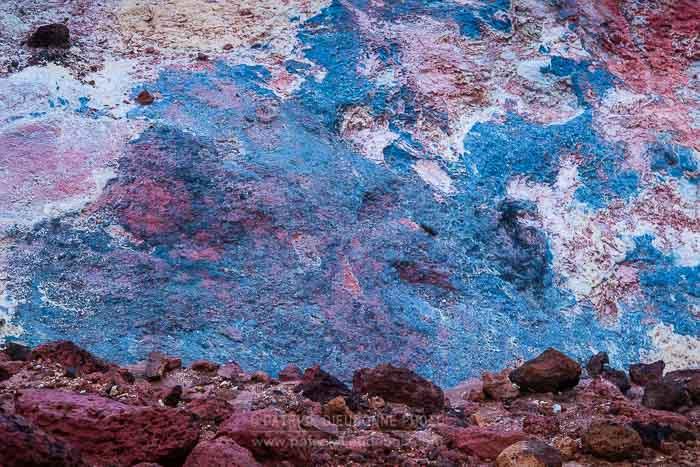 Palette de couleurs, Krisuvik, Islande