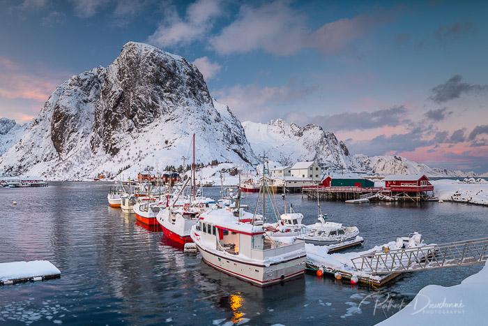 Une autre vue d'Hamnoy, Lofoten, côté pêche.