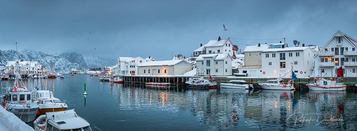 Port d'Henningsvaer, Lofoten