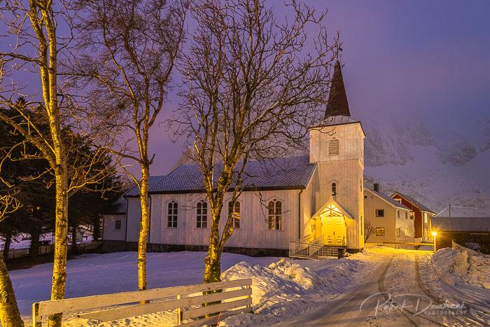 Eglise de Reine, Lofoten.