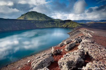 Crater lake, Landmannalaugar