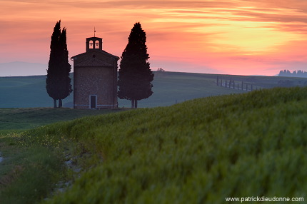 Chapelle, Val d'Orcia