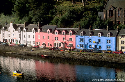 Portree, Skye, Scotland