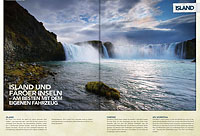 Smyril Line, brochure Islande