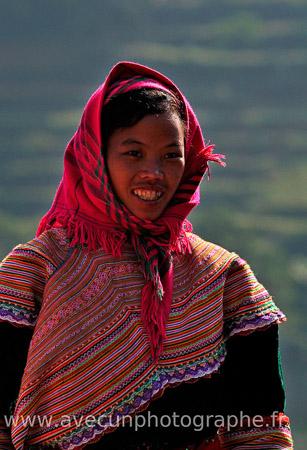 Jeune femme - nord Vietnam