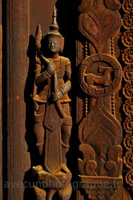 Mandalay, Monastère de Swe In Bin