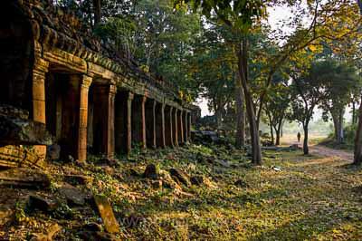 Temple, Cambodge