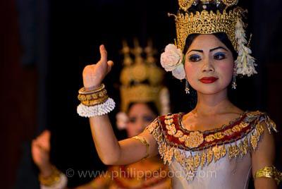 Apsaras Cambodge