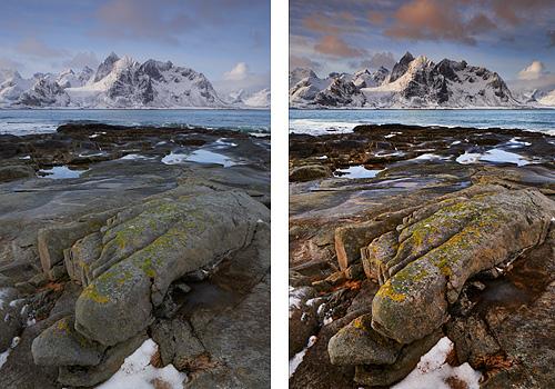 landscape image developed with Capture One Pro 8