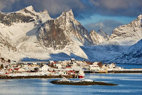 Reine, Moskenes, Lofoten, Norvège