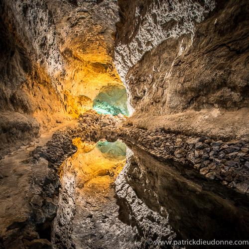 Lava caves, Lanzarote