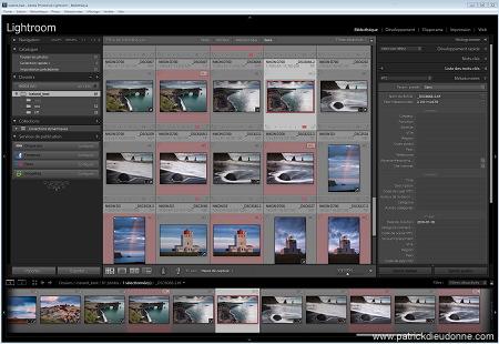 Adobe Lightroom panel