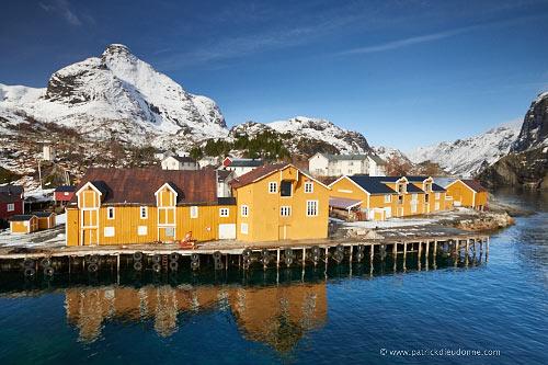 village of Nusfjord, Lofoten, Norway