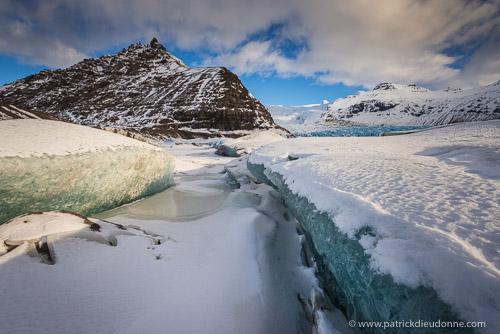 Glacier Svinafell, Skaftafell NP